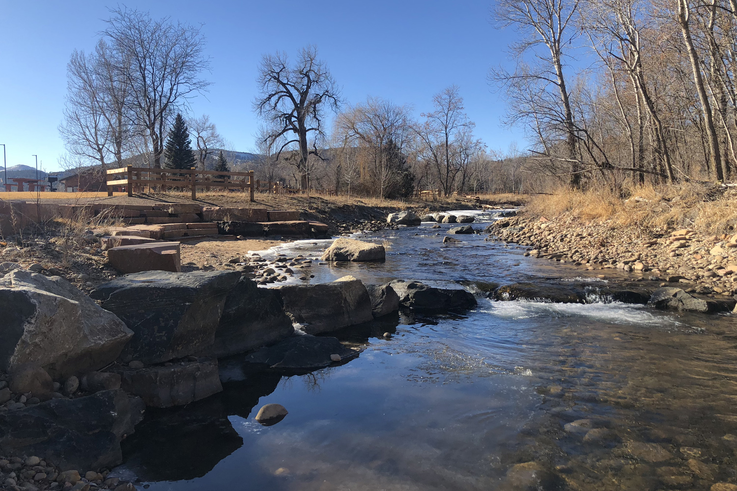 Bohn Park Restoration Lyons Colorado