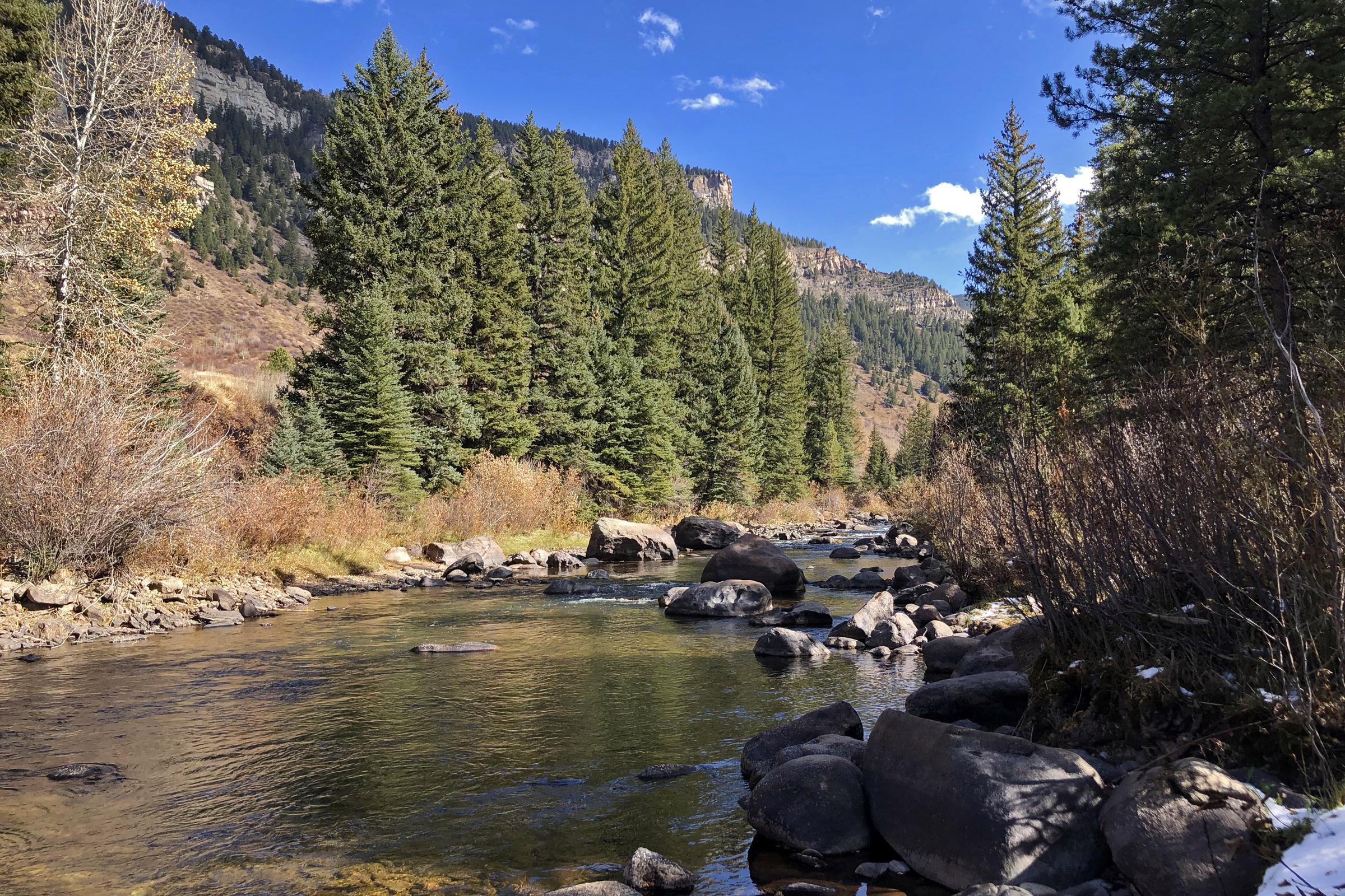 Eagle River at The Boneyard